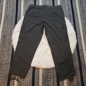 Eddie Bauer Pants - Eddie Bauer Women's Gray Khaki Capri Pants